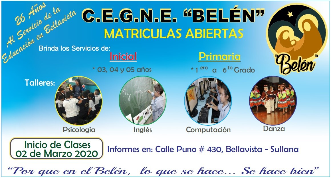 Publicidad Lateral CEGNE - BELEN