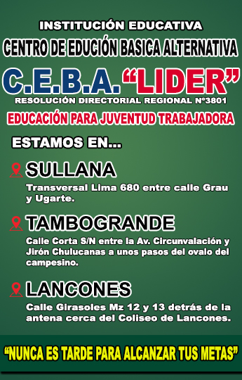 C.E.B.A. Lider